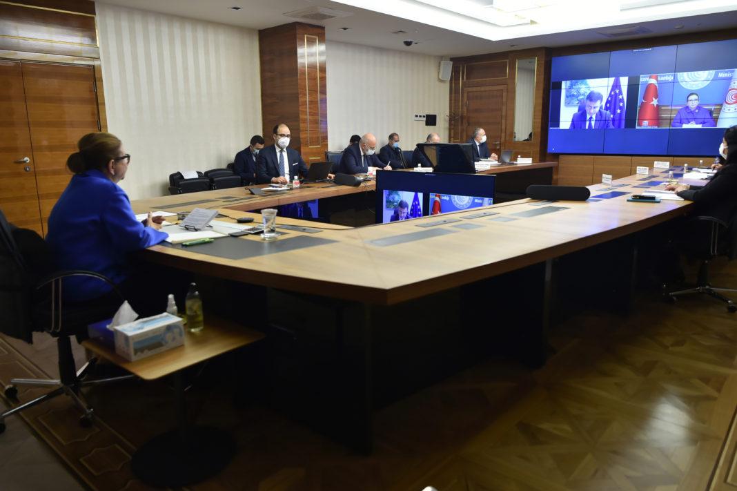 Ticaret Bakanımız Sayın Ruhsar Pekcan, AB Ticaret Komiseri İle Görüştü