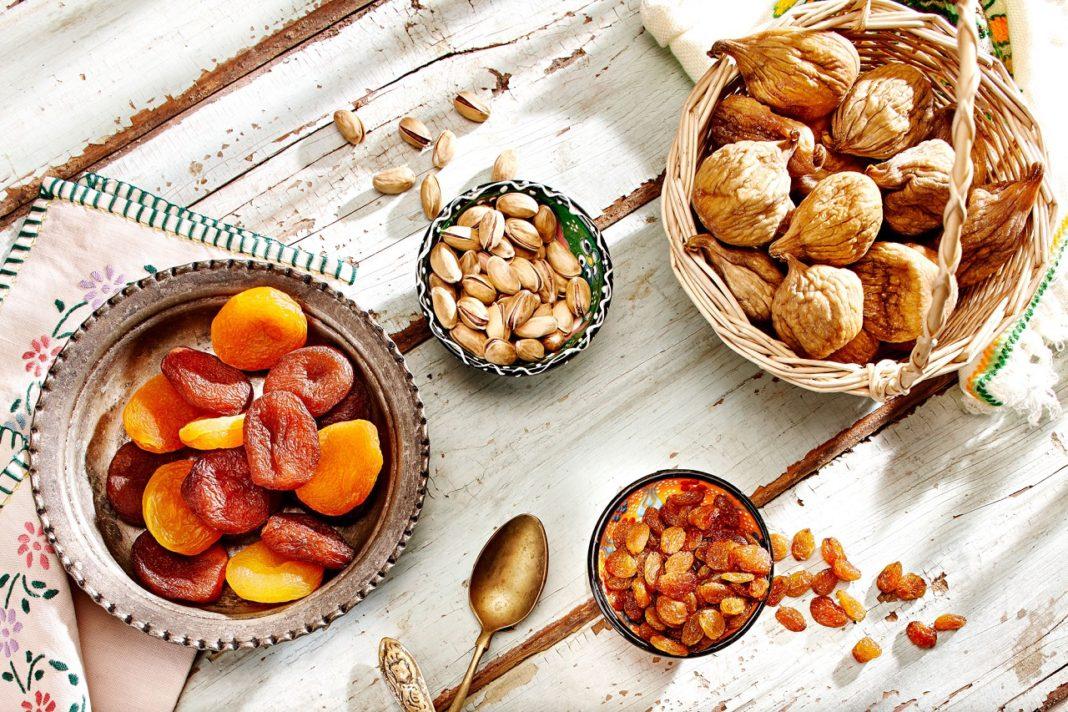 kuru üzüm-incir-kayısı antepfıstığı