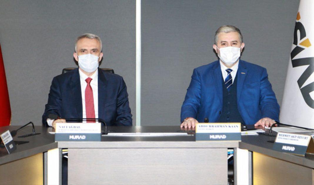 TCMB Başkanı Ağbal'dan TÜSİAD'a ziyaret
