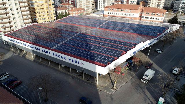 gunes enerjisi melikgazi belediyesi