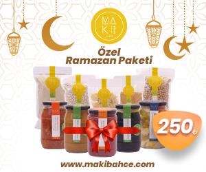 Maki Bahçe'den Özel Ramazan Paketi