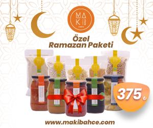 Maki Bahçe'den Ramazan Paketleri
