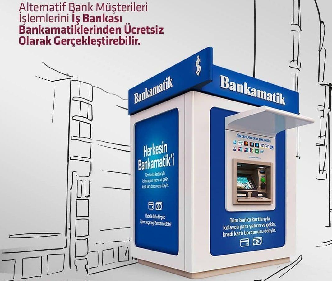 AlternatifBank Isbank OrtakATM