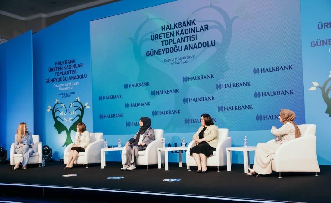 Halkbank Üreten Kadınlar Toplantısı Güneydoğu Anadolu
