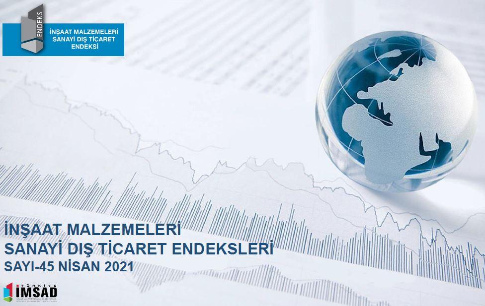 İMSAD Dış Ticaret Endeksi Nisan 2021